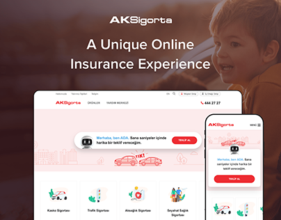 Aksigorta Corporate Web Site