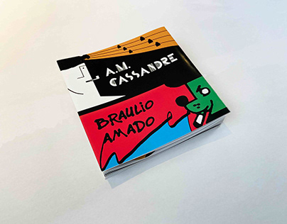 Two Designer Timeline Accordion Book