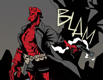 Hellboy, private commission