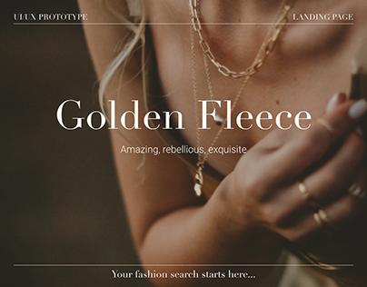Landing Page | Golden Fleece