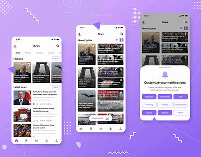 News App - Exploration
