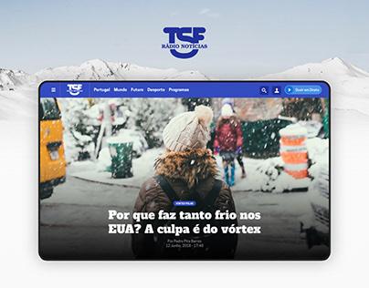 TSF UI Design