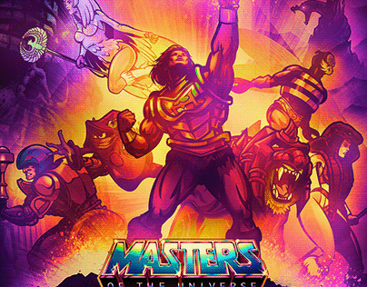 Official Limited Edition Masters of the Universe Poster
