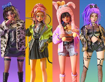 Yuli's fashion show