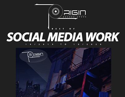 Origin Hackerspace social media