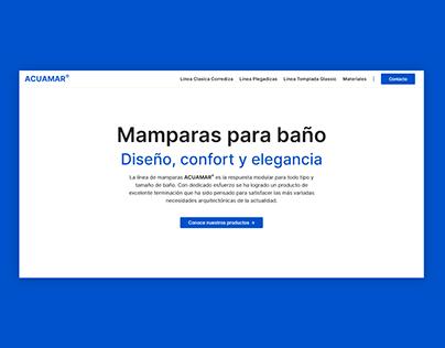 Acuamar | Website, UI/UX