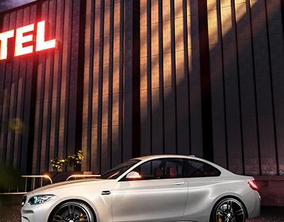 BMW - A NIGHT PARK (FULL CGI)