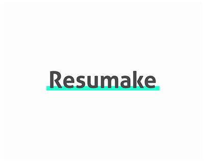 Resumake – Online resume creator
