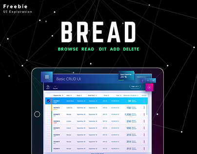 BREAD UI & Patterns Exploration
