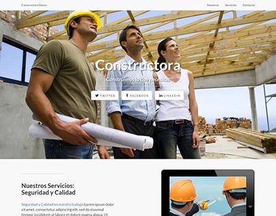 Constructora Demo