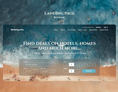 Landing Page   Booking