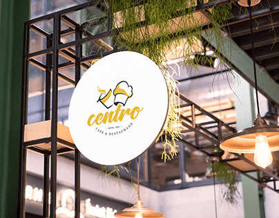 Centro Cafe and Restaurant Branding