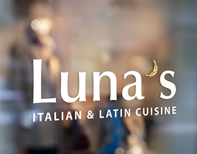 Restaurant Branding for Luna's