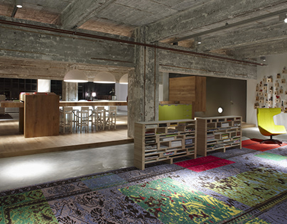 2009: Desque - Philips 'Clock' building Eindhoven