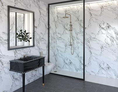 Bathrooms design for catalog