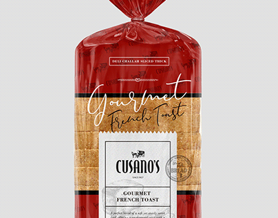 2020 | Packaging Design | Gourmet French Toast Bread