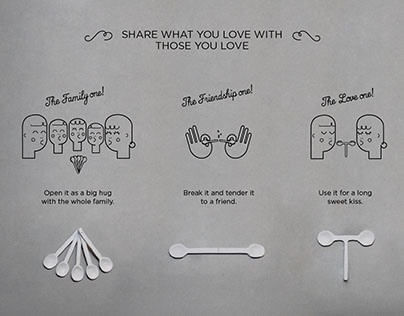 Ben & Jerry's spoons | D&AD student awards 2014