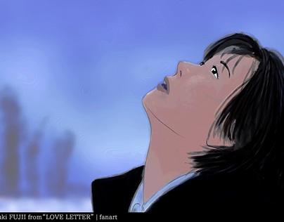 "[FANART] Itsuki Fujii from ""Love Letter"""