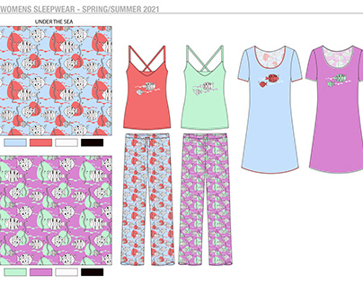 Womens Sleepwear - Spring/Summer 2021