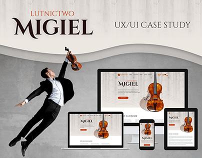 Migiel Luthier UX/UI