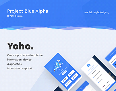 Project Blue Alpha: YOHO (App UI)