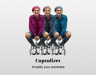 DAILY UI :: 001 Capsulizer