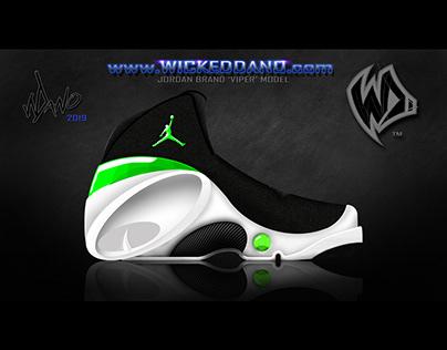 """Wicked Dano """"VIPER"""" Sneaker Concept Art"""