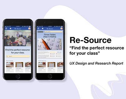 Re-Source (UX Design and Research Report)