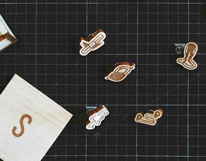 Sílaba Súbita - 5 Pin-Pack