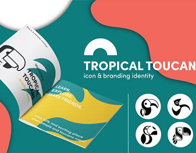 Tropical Toucan: Icon & Branding Identity