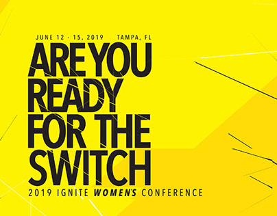 """The Switch"" Conference Branding"