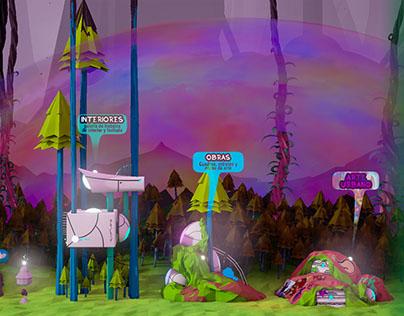 JGC86 - Web video game experimental