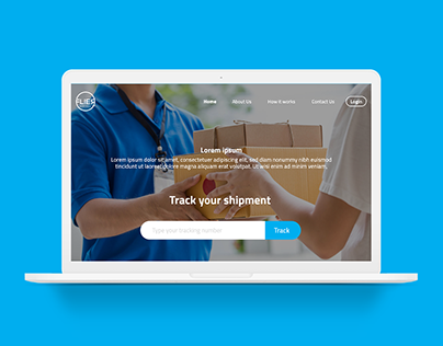 Flier website UI-UX design