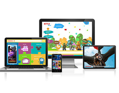 UXUI Design | Netflix Kids