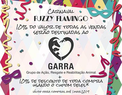 Carnaval Fuzzy Flamingo