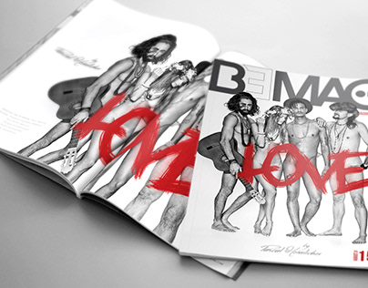BEMAG Magazine editorial design