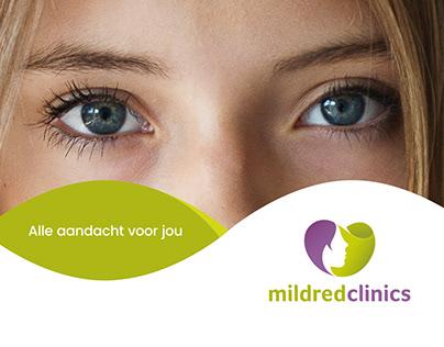 Mildred Clinics Identity Design