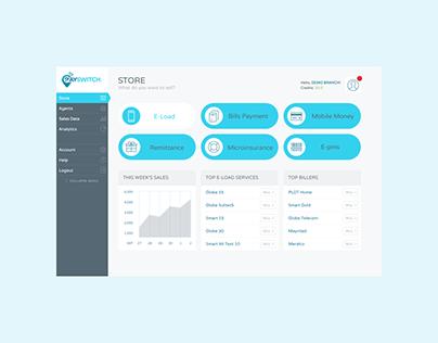 Web, marketing, & product design — PaySwitch