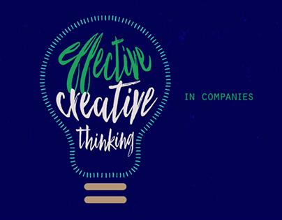 Effective Creative thinking