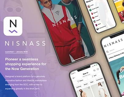 Nisnass eCommerce fashion App Design