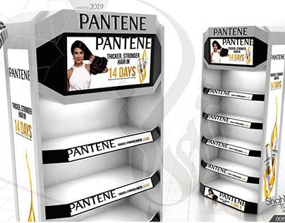 Pantene Digital Video Header Talker End-Cap & Pallet