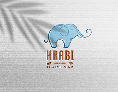 THAILAND RESTAURANT LOGO - KRABI