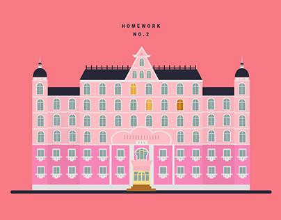 【GIF】布達佩斯大飯店 The Grand Budapest Hotel