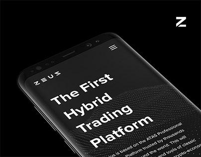 Zeus Crypto Trading Platform