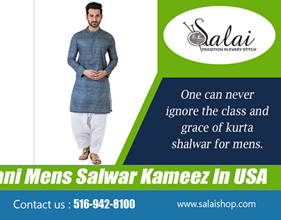 Pakistani Mens Salwar Kameez In USA   salaishop.com