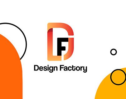 Logo & brand identity for Design Factory
