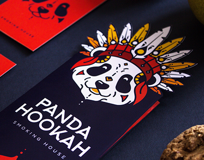 PANDA HOOKAH - Smoking House Branding