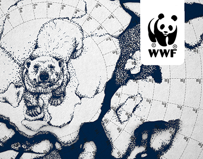 WWF Polar Calendar. Time is ice...