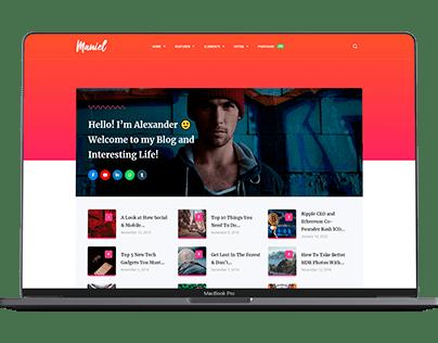 Maniel – Blog & Magazine WordPress Theme