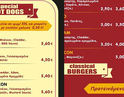 catalogue menu